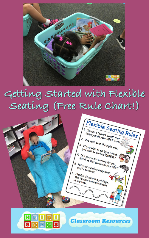 Getting Started With Flexible Seating Free Rule Chart